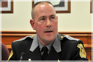 Sheriff Gary Hofmann at SHERIFF Forum