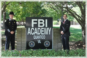 FBI Graduation with 1st Sgt. Mark Meil.Continuing the excellence in providing quality leadership in our county.