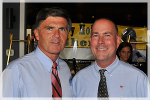 Governor Bob Ehrlich and Sheriff Gary Hofmann