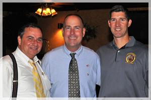 Scotty Macglashan (Clerk of the Court), Sheriff Gary Hofmann and Lance Richardson (States Attorney)