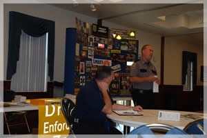 Sheriff Gary Hofmann and his countless hours teaching in the community