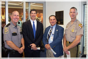 Maintaining Law Enforcement partnerships with States Attorney, Clerk of the Court and Maryland State Police